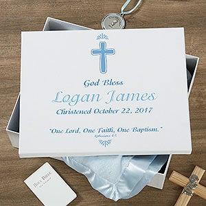 Personalized Baptism Keepsake Box - 18389