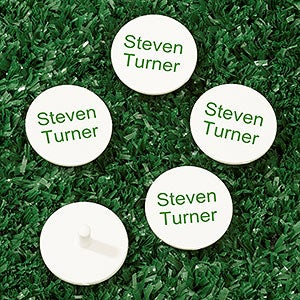 Personalized Golf Markers - Add Any Text - 18409