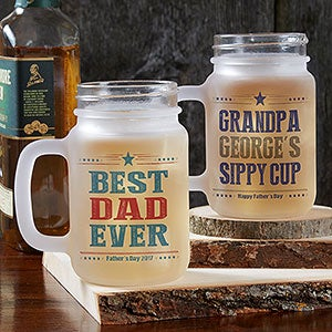 Personalized Mason Jars - Write Your Own Message - 18427