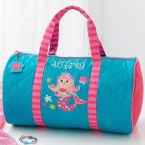 Personalized Kids Duffel Bag - Mermaid - 18443