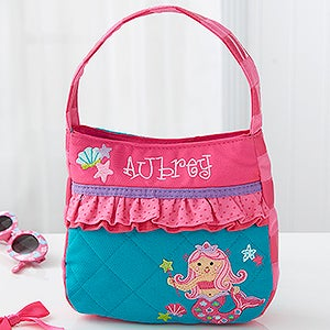 Personalized Kids Purse for Girls - Mermaid (18444) photo