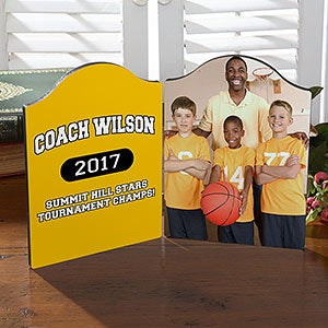Photo Plaques - Personalized Gifts for Coach - 18446