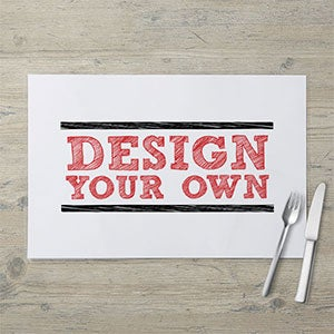 Design Your Own Personalized Laminated Placemat - 18454