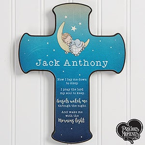 Personalized Bedtime Prayer Cross - Precious Moments - 18476