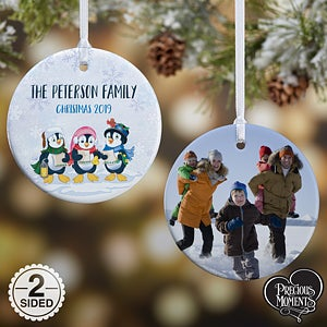 Penguin Christmas Ornaments - Precious Moments - 18479