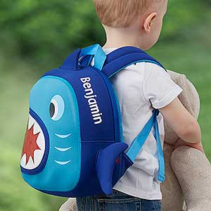 Personalized Toddler Backpack - Shark - 18501