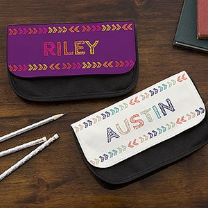 Personalized Pencil Case - Stencil Name - 18508