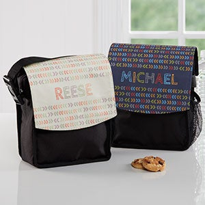 Personalized Lunch Bags - Stencil Name - 18509