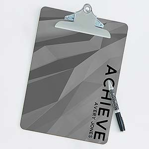 Personalized Clipboard - Bold Style - 18519