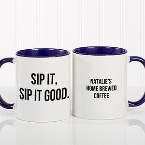 Personalized Coffee Mugs - Add Any Text - 18543