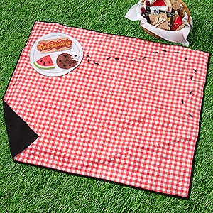 Personalized Picnic Blanket Ant Attack