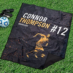 Personalized Picnic Blanket - Sports Enthusiast - 18576