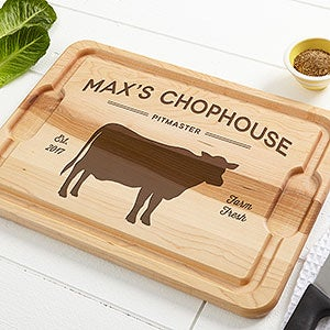 Personalized Maple Cutting Boards - Farmhouse Kitchen - 18598