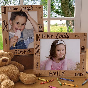 Personalization Mall Personalized Kids 8x10 Picture Frames - Alphabet Name at Sears.com