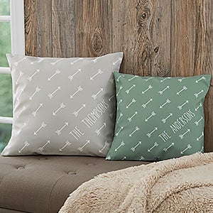 Personalized Throw Pillows - Arrows Design - 18645