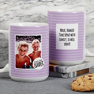 Personalized Photo Message Coffee Mugs - 18719