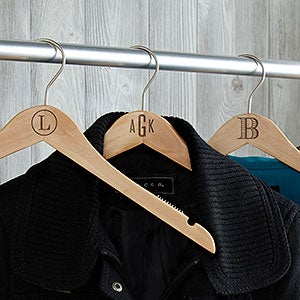 Custom Engraved Wood Hangers - 18722