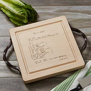 Handwritten Recipe Engraved Cutting Boards - 18729D