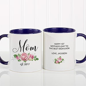 Personalized New Mom Coffee Mug - 18818