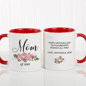 Personalized New Mom Coffee Mug - 18818