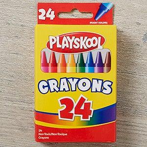 Playskool 24 Ct Crayons - 18824