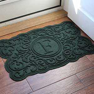Personalized AquaShield Doormat - Gallifrey Monogram - 18850D