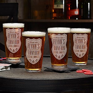 Beer Label Personalized 16oz. Pint Glass - #18869-G