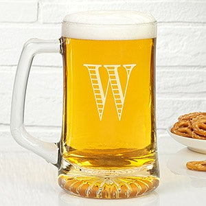 Personalized Beer Mugs - Monogram or Name - 18878