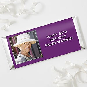 Personalized Photo Candy Bar Wrappers - 18924