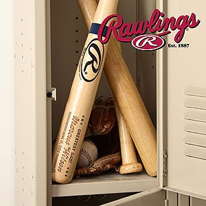 Personalized Rawlings Baseball Bat - Father of the Year - 18951