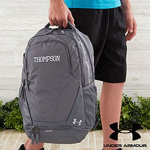 Under Armour Embroidered Backpacks - Graphite - 18987