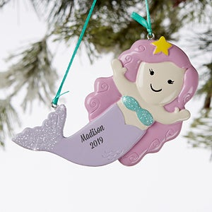 Personalized Mermaid Ornament - 19058