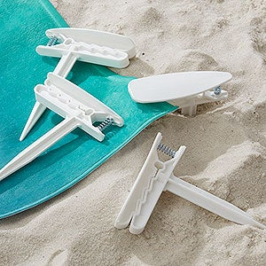Beach Towel Anchor Stakes - Set of 4 - 19088