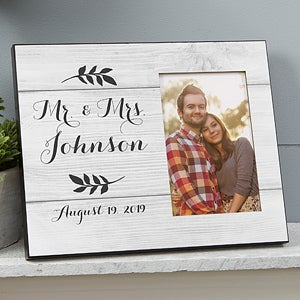 Farmhouse Wedding Personalized Picture Frames - 19097