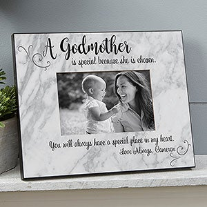 Personalized Godparent Picture Frames - 19104