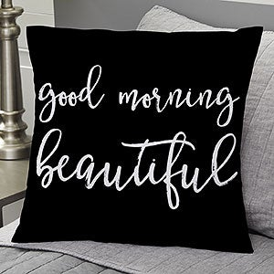Personalized Throw Pillows - Romantic Expressions - 19123