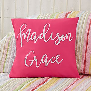 Personalized Kids' Throw Pillows  - Write Your Own - 19124