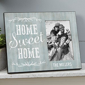 Personalized Picture Frame - Home Sweet Home - 19139