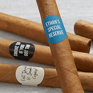 Custom Cigar Labels - Add Any Text - 19161