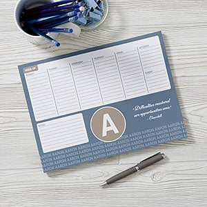 Personalized Calendar Pads - Add Any Quote - 19211