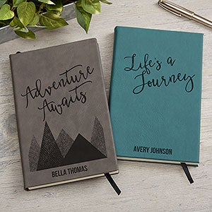 Adventure Awaits Personalized Writing Journal - 19232