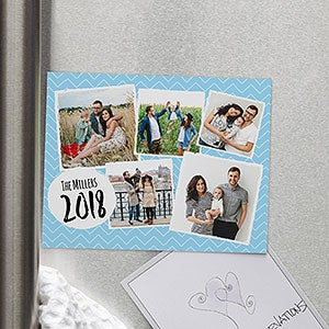 Personalized Photo Refrigerator Magnets - Family Photos - 19256