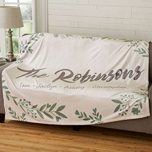 Personalized Fleece Blankets - Cozy Home - 19265