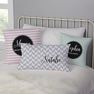 Personalized Name Pillows - Name Meaning - 19321