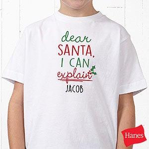 Dear Santa Personalized Kids Clothes - 19372