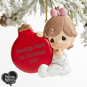 Precious Moments Personalized Baby Ornaments - 19398