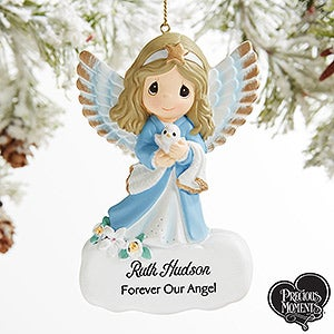 Precious Moments Personalized Angel Memorial Ornament - 19399