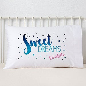 Personalized Kids Pillowcases - Sweet Dreams - 19415