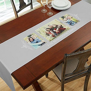 Personalized Photo Collage Table Runners   19425