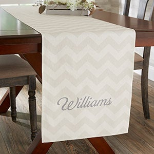 Personalized Table Runner - Modern Patterns - 19426